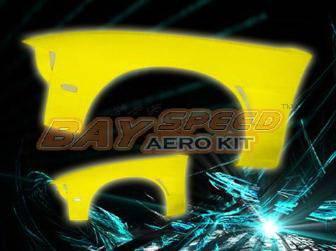 180SX - Fenders - Bayspeed. - Nissan 180SX Bay Speed D1 Fender - 8702D1-FD