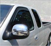 Accessories - Wind Deflectors - AVS - Ford F150 AVS In-Channel Ventvisor Deflector - 2PC