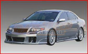 TSX - Front Bumper - Bayspeed. - Acura TSX Bayspeed Raven Style Front Bumper - 8908RV
