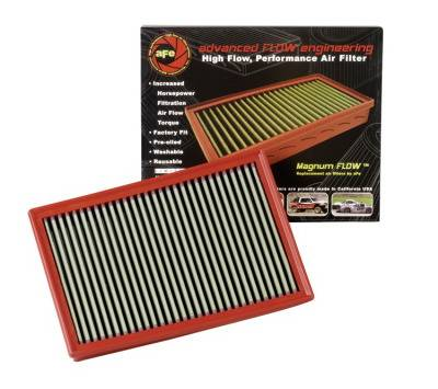Air Intakes - Oem Air Intakes - aFe - Dodge Dakota aFe MagnumFlow Pro-5R OE Replacement Air Filter - 30-10071