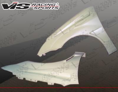 Focus 4Dr - Fenders - VIS Racing - Ford Focus VIS Racing Bullet Fenders - 00FDFOC2DBU-007
