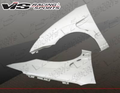 Focus 4Dr - Fenders - VIS Racing - Ford Focus VIS Racing Laser Fenders - 00FDFOC2DLS-007