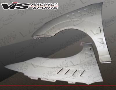 Focus 4Dr - Fenders - VIS Racing - Ford Focus VIS Racing Z3 Fenders - 00FDFOC2DZ3-007