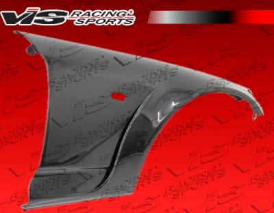S2000 - Fenders - VIS Racing - Honda S2000 VIS Racing Ami Carbon Front Fenders with Extension - 30mm - 00HDS2K2DAMI-007C