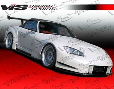 S2000 - Fenders - VIS Racing. - Honda S2000 VIS Racing AMS Widebody Front Fenders - 00HDS2K2DAMSWB-007