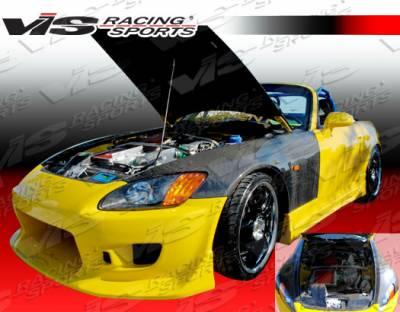 S2000 - Fenders - VIS Racing - Honda S2000 VIS Racing OEM Style Carbon Fiber Fenders - Pair - 00HDS2K2DOE-007C
