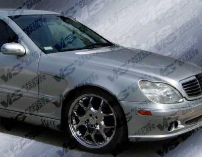 S Class - Fenders - VIS Racing - Mercedes-Benz S Class VIS Racing Laser Front Fenders - 00MEW2204DLS-007