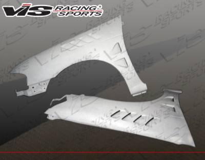 Sentra - Fenders - VIS Racing - Nissan Sentra VIS Racing Z3 Fenders - 00NSSEN4DZ3-007