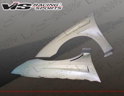Cavalier 2Dr - Fenders - VIS Racing - Chevrolet Cavalier VIS Racing Bullet Fenders - 03CHCAV2DBU-007