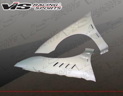 Cavalier 2Dr - Fenders - VIS Racing - Chevrolet Cavalier VIS Racing Z3 Fenders - 03CHCAV2DZ3-007