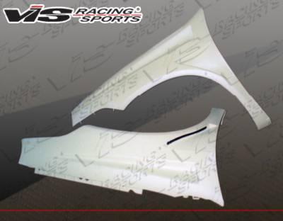 Neon 2Dr - Fenders - VIS Racing - Dodge Neon VIS Racing Bullet Fenders - 03DGNEO4DBU-007