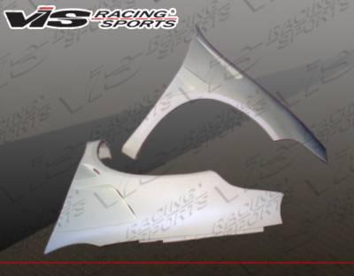 Neon 2Dr - Fenders - VIS Racing - Dodge Neon VIS Racing Laser Fenders - 03DGNEO4DLS-007