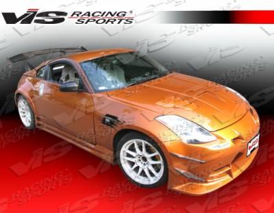 350Z - Fenders - VIS Racing - Nissan 350Z VIS Racing Blade Front Fenders - 03NS3502DBLD-007