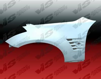 350Z - Fenders - VIS Racing - Nissan 350Z VIS Racing Magnum Fenders - 03NS3502DMAG-007