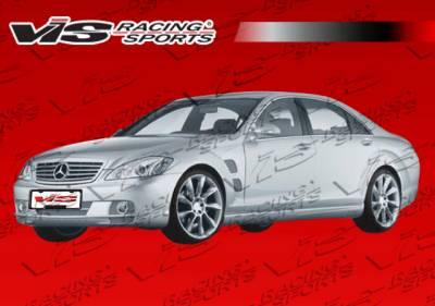 S Class - Fenders - VIS Racing - Mercedes-Benz S Class VIS Racing Laser Fender - 07MEW2214DLS-007