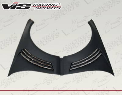 C Class - Fenders - VIS Racing - Mercedes-Benz C Class VIS Racing VIP Style Front Fenders - 08MEW2044DVIP-007