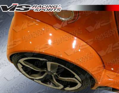 ForTwo - Fenders - VIS Racing. - Smart ForTwo VIS Racing Max Widebody Rear Fenders - 08SMFR22DMWB-006