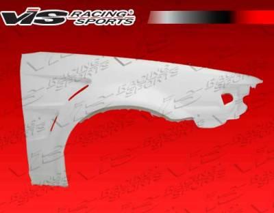 Corolla - Fenders - VIS Racing - Toyota Corolla VIS Racing Drift Fenders - 84TYCOR2DDFT-007