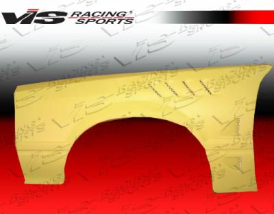 Mustang - Fenders - VIS Racing - Ford Mustang VIS Racing Z3 Fenders - 87FDMUS2DZ3-007