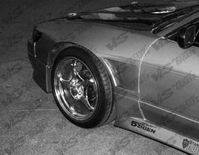 S13 - Fenders - VIS Racing - Nissan S13 VIS Racing Drift Front Fenders - 89NSS132DDFT-007