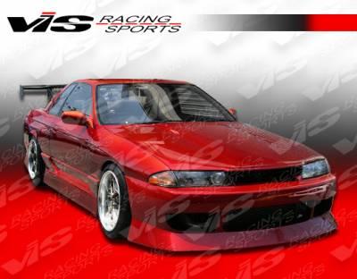 Skyline - Fenders - VIS Racing - Nissan Skyline VIS Racing V-Speed Type-2 Front Fenders - 90NSR32GTRVSP2-007