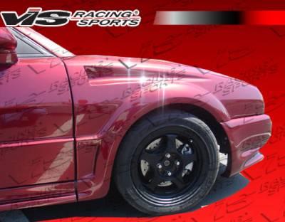 Corrado - Fenders - VIS Racing - Volkswagen Corrado VIS Racing Bullet Fenders - 90VWCORD2DBU-007