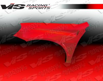 Probe - Fenders - VIS Racing - Ford Probe VIS Racing Bullet Fenders - 93FDPRO2DBU-007
