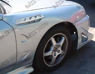 Del Sol - Fenders - VIS Racing - Honda Del Sol VIS Racing Z3 Roadster Fenders - 93HDDEL2DRS-007