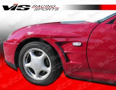 Supra - Fenders - VIS Racing - Toyota Supra VIS Racing Drift Type 2 Fenders - 93TYSUP2DDFT2-007