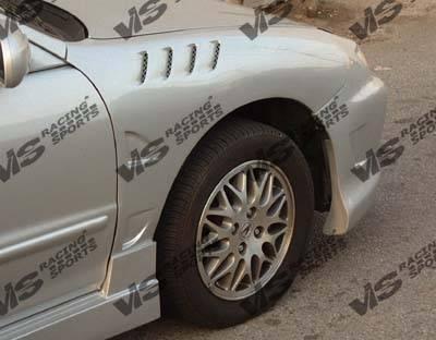 Integra 2Dr - Fenders - VIS Racing - Acura Integra VIS Racing Z3 Fenders - 94ACINT2DZ3-007