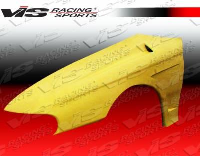 Mustang - Fenders - VIS Racing - Ford Mustang VIS Racing Laser Fenders - 94FDMUS2DLS-007