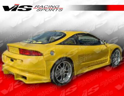 Eclipse - Fenders - VIS Racing. - Mitsubishi Eclipse VIS Racing A Tech Widebody Rear Fenders - 95MTECL2DATWB-006
