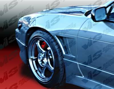 240SX - Fenders - VIS Racing - Nissan 240SX VIS Racing Drift Front Fenders 25mm - 97NS2402DDFT-007
