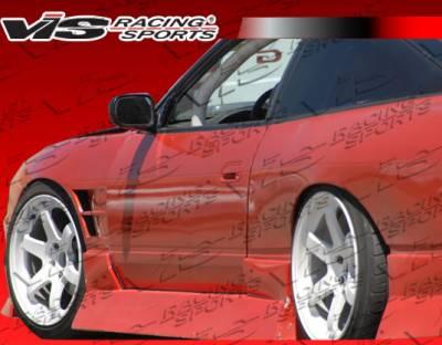 240SX - Fenders - VIS Racing - Nissan 240SX VIS Racing Drift X Front Fenders - 97NS2402DDFTX-007