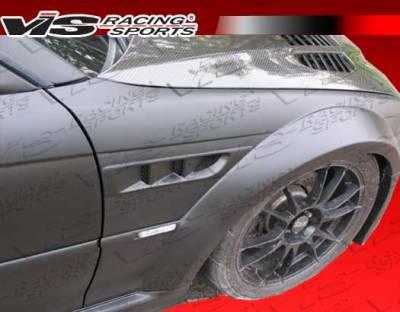 3 Series 2Dr - Fenders - VIS Racing. - BMW 3 Series 2DR VIS Racing DTM Widebody Front Fenders - 99BME462DDTMWB-007