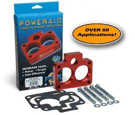 Performance Parts - Throttle Body Spacers - Airaid - PowerAid Throttle Body Spacer - 400-587