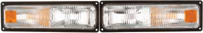 Headlights & Tail Lights - Corner Lights - APC - Chevrolet CK Truck APC Parking Lights with Clear Lens - 403021PL