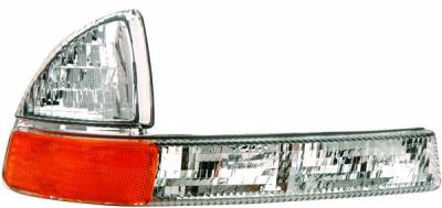 Headlights & Tail Lights - Corner Lights - APC - Dodge Durango APC Corner Lights with Clear Lens - 403032CL