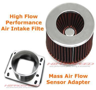 Air Intakes - OEM - Custom - E30 Air Intake Filter With Air Flow Sensor Adapter