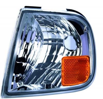 Headlights & Tail Lights - Corner Lights - APC - Ford F150 APC Corner Lights with Diamond Clear Lens - 403042CLD