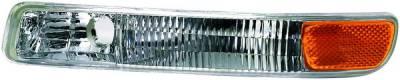 Headlights & Tail Lights - Corner Lights - APC - GMC Sierra APC Corner Lights with Clear Lens - 403052CL