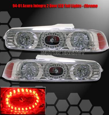 Headlights & Tail Lights - LED Tail Lights - Custom - Chrome LED AltezzaTaillights