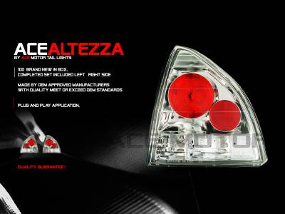 Headlights & Tail Lights - Tail Lights - Custom - Euro AltezzaTaillights
