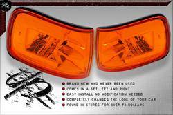 Headlights & Tail Lights - Corner Lights - Custom - JDM Corner Lights Amber