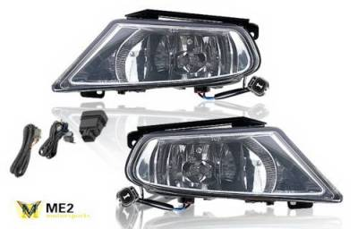 Headlights & Tail Lights - Fog Lights - WinJet - Honda Odyssey WinJet OEM Fog lights