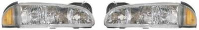 Headlights & Tail Lights - Headlights - Custom - Crystal Clear Headlights Amber