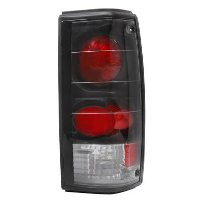 Headlights & Tail Lights - Tail Lights - APC - GMC S15 APC Euro Taillights with Black Housing - 404111TLB