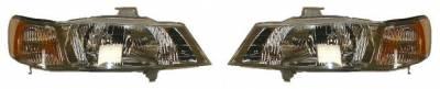Headlights & Tail Lights - Headlights - Custom - Clear Headlights Amber