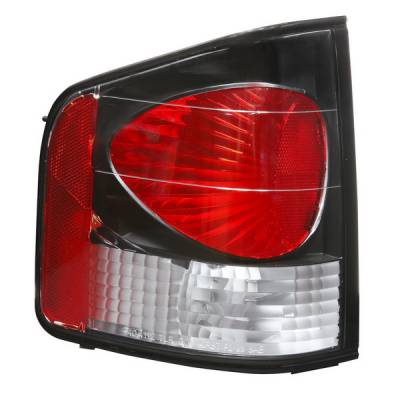 Headlights & Tail Lights - Tail Lights - APC - GMC S15 APC Euro Taillights with Black Housing - 404112TLB