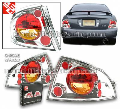 Headlights & Tail Lights - Tail Lights - Custom - Chrome  Altezza Taillights Amber